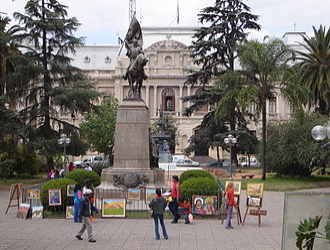 San Salvador de Jujuy - Image: Plaza Belgrano