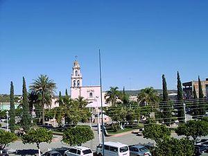 Cocula, Jalisco - Image: Plaza de cocula