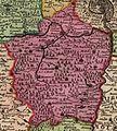 Podbrdský kraj na Vogtově mapě 1712.jpg