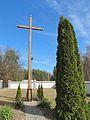 Podlaskie - Juchnowiec Kościelny - Tryczówka - Kościół Niepokalanego Poczęcia 20120324 16 krzyż.JPG