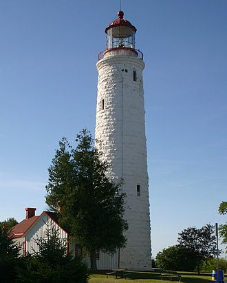 Heritage Lighthouse Protection Act - Point Clark Lighthouse, Ontario, designated in 2015