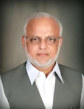 Politician Ejaz Chaudhary Portrait