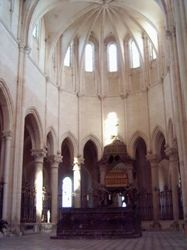 Choir of the abbey church