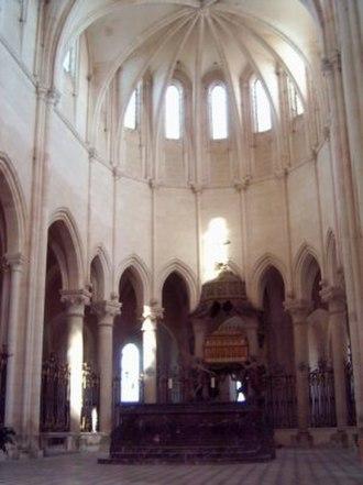 Pontigny Abbey - Choir of the abbey church