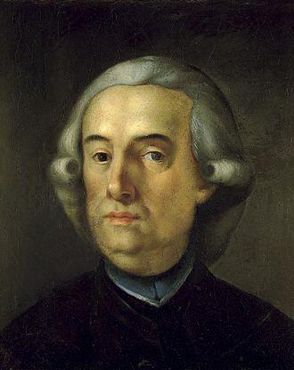 """Antonio Ponz - """"Self Portrait"""", oil on canvas, Madrid, Real Academia de Bellas Artes de San Fernando."""