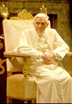 Pope Benedictus XVI january,20 2006 (2)