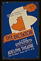 "Popu lar Price Theatre presents ""The dictator"" LCCN96518592.jpg"