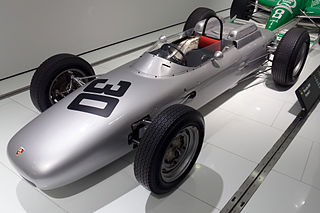 racing automobile