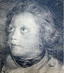 François Huber, Genevois, adolescent, dessiné par son père