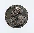 Portrait medal of Paolo Giovio (obverse); Giovio Raising a Man from a Grave (reverse) MET DP-1241-019.jpg