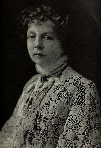 Cécile Chaminade - Portrait of Cécile Chaminade, by Guessford