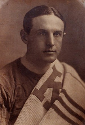 Kansas State Wildcats football - All-conference football star Tom Sebring in 1922