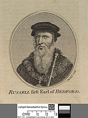 Russell firft Earl of Bedford