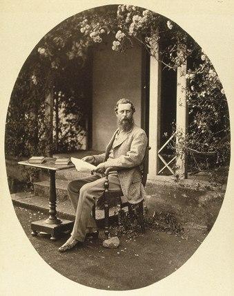 Portrait of Samuel Bourne, 1864