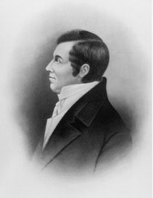 Edward Tiffin - Image: Portrait of Senator Edward Tiffin of Ohio