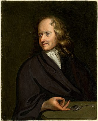 Theodore Haak - Portrait of Theodore Haak by Sylvester Harding.