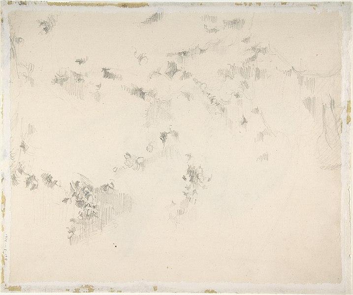 File:Portrait of the Artist (recto); Fragment of a Landscape Study (verso) MET DP805574.jpg