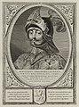 Portret van Arnulf, graaf van Holland, in een harnas. g is versierd met het wapen van Holland. NL-HlmNHA 1477 53012896.JPG
