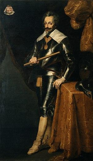 Portret van Karel II de Coy (1560-1612)