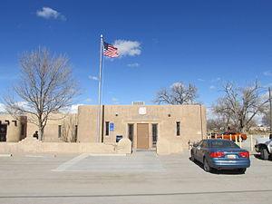 Isleta Village Proper, New Mexico - Post Office