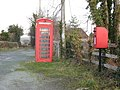 Postbox and Phonebox. - geograph.org.uk - 653474.jpg