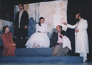 "Correspondence Theatre - Theatre play ""Crime and Punishment"" (by Fyodor Dostoyevsky) played by the actors of the Correspondence Theatre and Drama Art Scene"