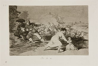 The Third of May 1808 - Image: Prado Los Desastres de la Guerra No. 44 Yo lo vi