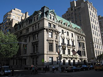 Fifth Avenue - 1026–1028 Fifth Avenue, one of the few extant mansions on Millionaire's Row