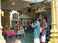 Praying and celebrating at the Sri Krishnan Temple (Little India). (4620133559).jpg
