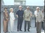 File:President Clinton Tours Robben Island (1998).webm
