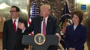File:President Trump Gives a Statement on the Infrastructure Discussion.webm