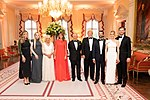 President Trump and First Lady Melania Trump at Winfield House (48008124766).jpg