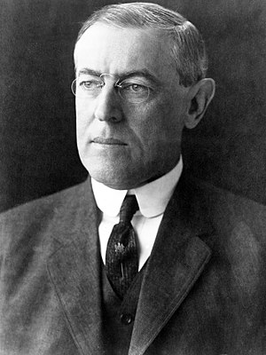 1916 Democratic National Convention - Image: President Woodrow Wilson portrait December 2 1912 (3x 4)