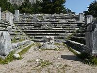 A bouleuterion at Priene