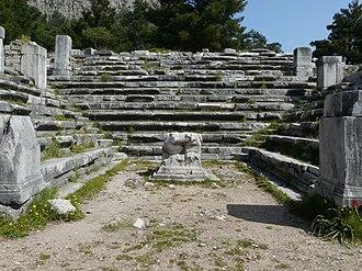Bouleuterion - Bouleuterion of Priene.