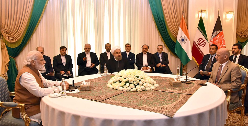 Prime Minister Narendra Modi attends a trilateral Meeting in Iran