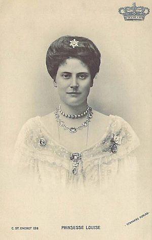 Princess Louise of Denmark (1875–1906) - Image: Princess Lovisa Caroline Josephine Sophie Thyra Olga of Denmark