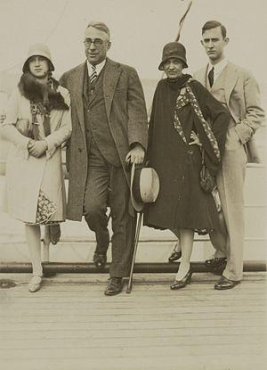 John Erskine (educator) - John Erskine (center left) with his family.