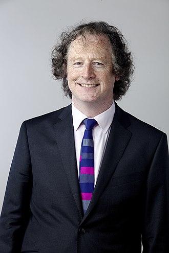 Liam Dolan - Liam Dolan in 2014, portrait via the Royal Society