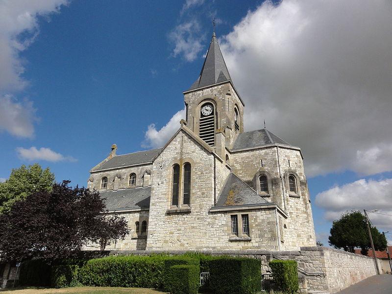 Prouvais (Aisne) église