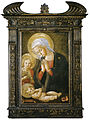 Pseudo-pier francesco fiorentino, madonna col bambino e san giovannino, 1460-1480 circa, uffizi 01.jpg