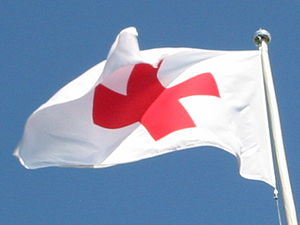 American Red Cross flag‎