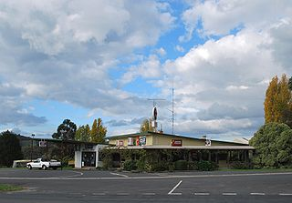 Pyalong Town in Victoria, Australia