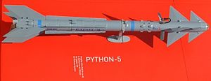 Python (missile) - Python-5, the latest member in the Python family of AAMs