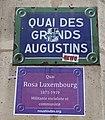 Quai des Grands-Augustins, 8 mars, Paris 6e.jpg