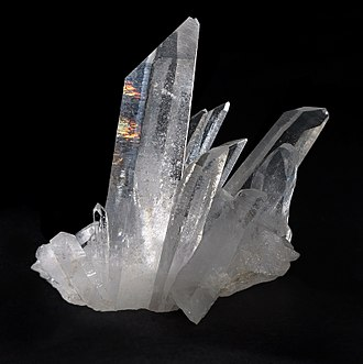 Crystal structure - Quartz is one of the several crystalline forms of silica, SiO2. The most important forms of silica include: α-quartz, β-quartz, tridymite, cristobalite, coesite, and stishovite.