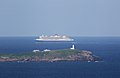 Queen Mary 2 sailing past South Solitary Island.jpg