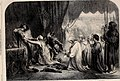 Queen Philippa interceding with her Husband Edward III for the Burgesses of Calais, by John Gilbert - ILN 1861.jpg