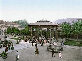 Bad Pyrmont - Image: Quelle Pyrmont 1900