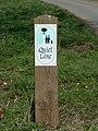 Quiet Lane Sign - geograph.org.uk - 380315.jpg